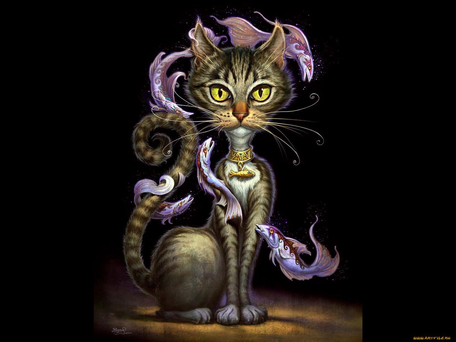 дорого кошки фентези картинки один самых